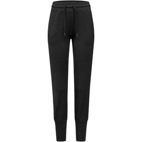 super.natural Essential Cuffed broek Dames, jet black melange